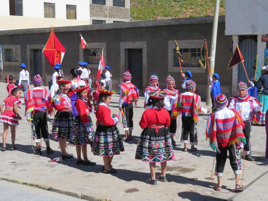 fête à Cabanaconde -