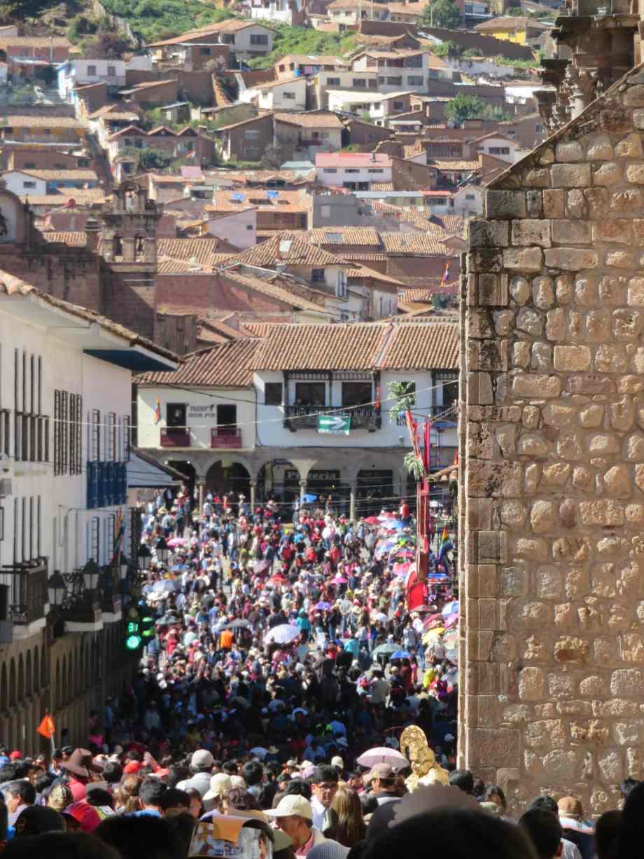 foule à Cusco (3)