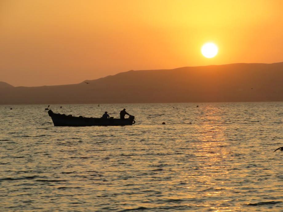 sunset à Paracas