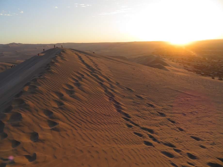 sunset sur les dunes (2)