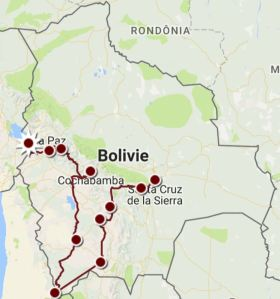 trajet Bolivie