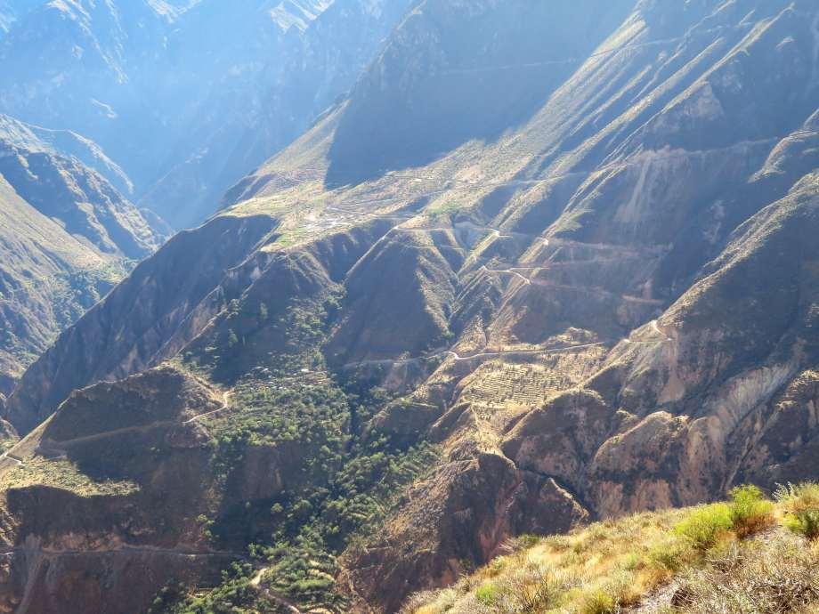versant du canyon