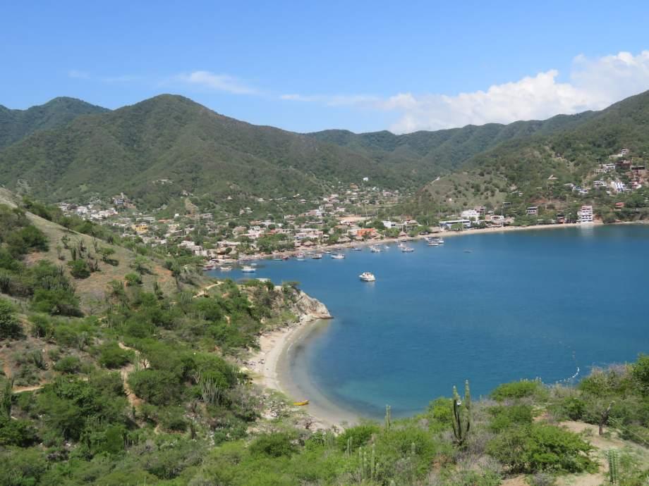 baie de Taganga-