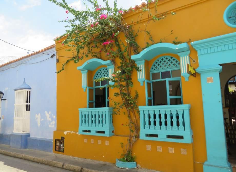 façade colorée