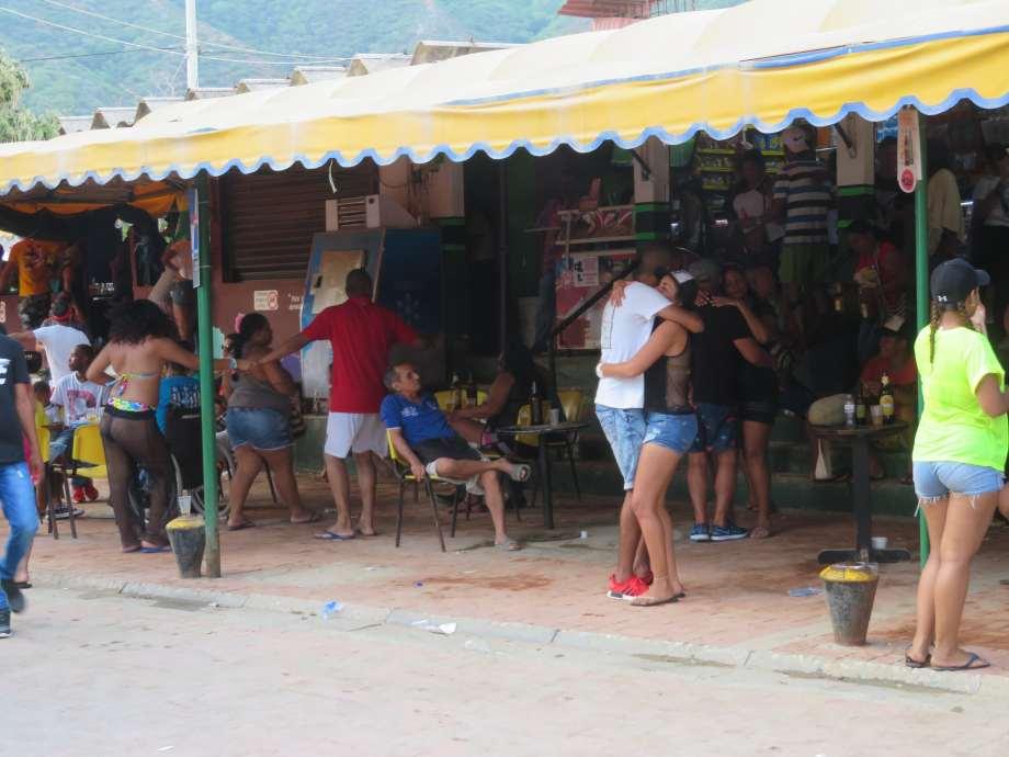 fiesta à Taganga
