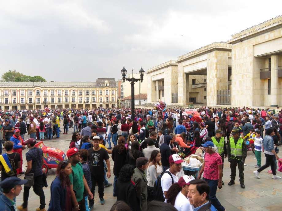 place centrale, Bogota