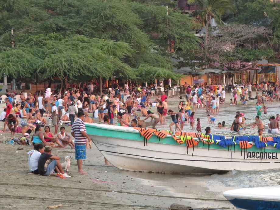 playa Tanganga le dimanche