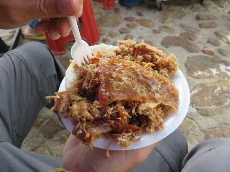 repas à Villa de Leyva (1)