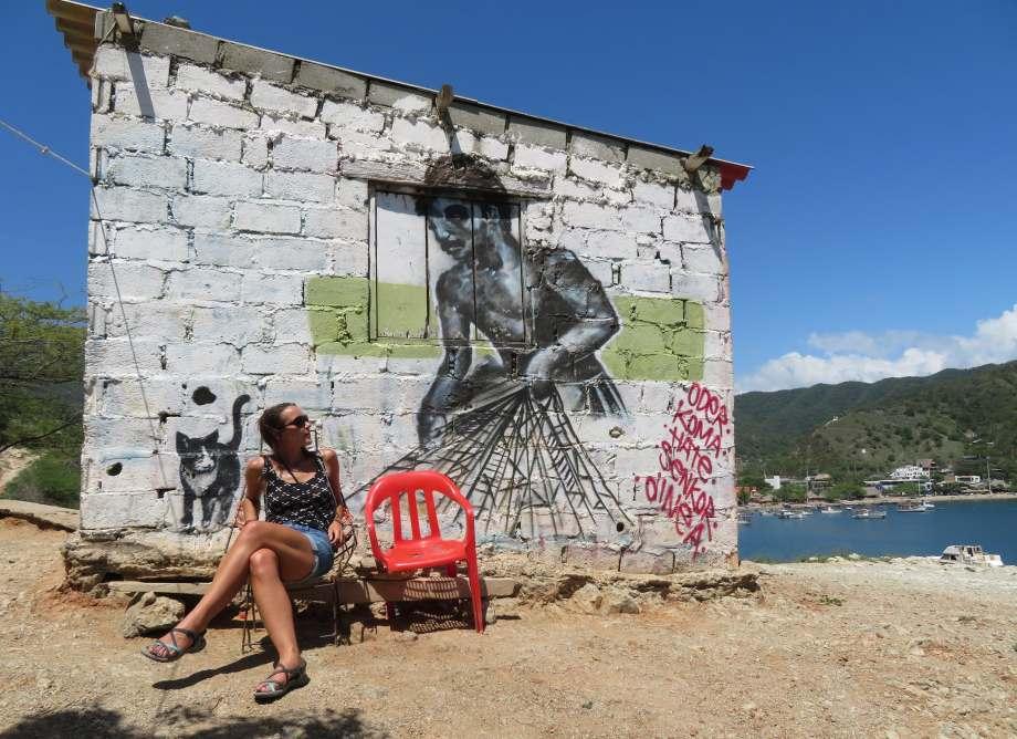 street art Taganga -