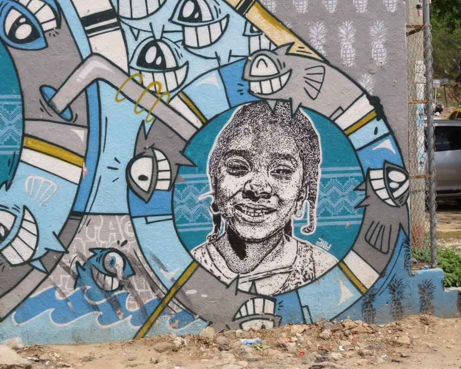 street art Taganga
