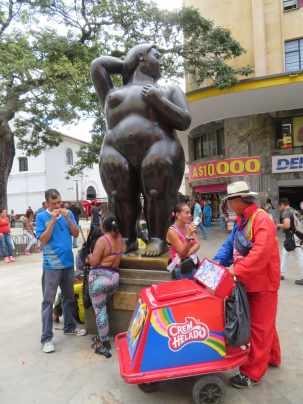 Botero dans la rue