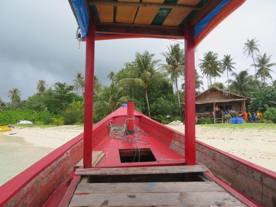 départ de l'île des naufragés (2)