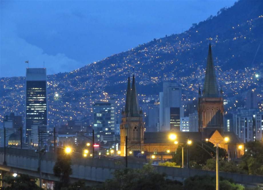 Medellin by night