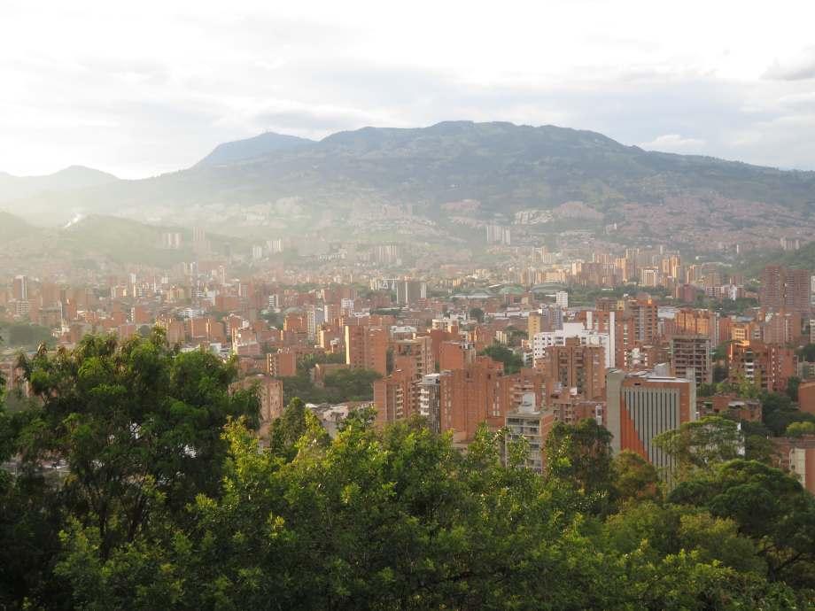 Medellin vu du cerro Nutibara