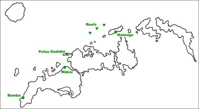 carte togian