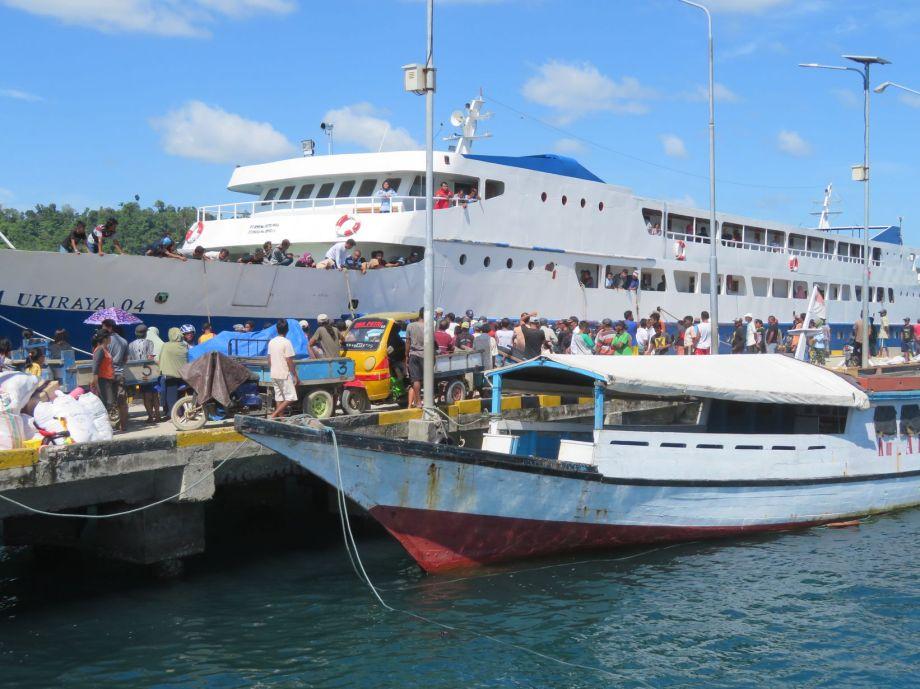 inauguration du ferry