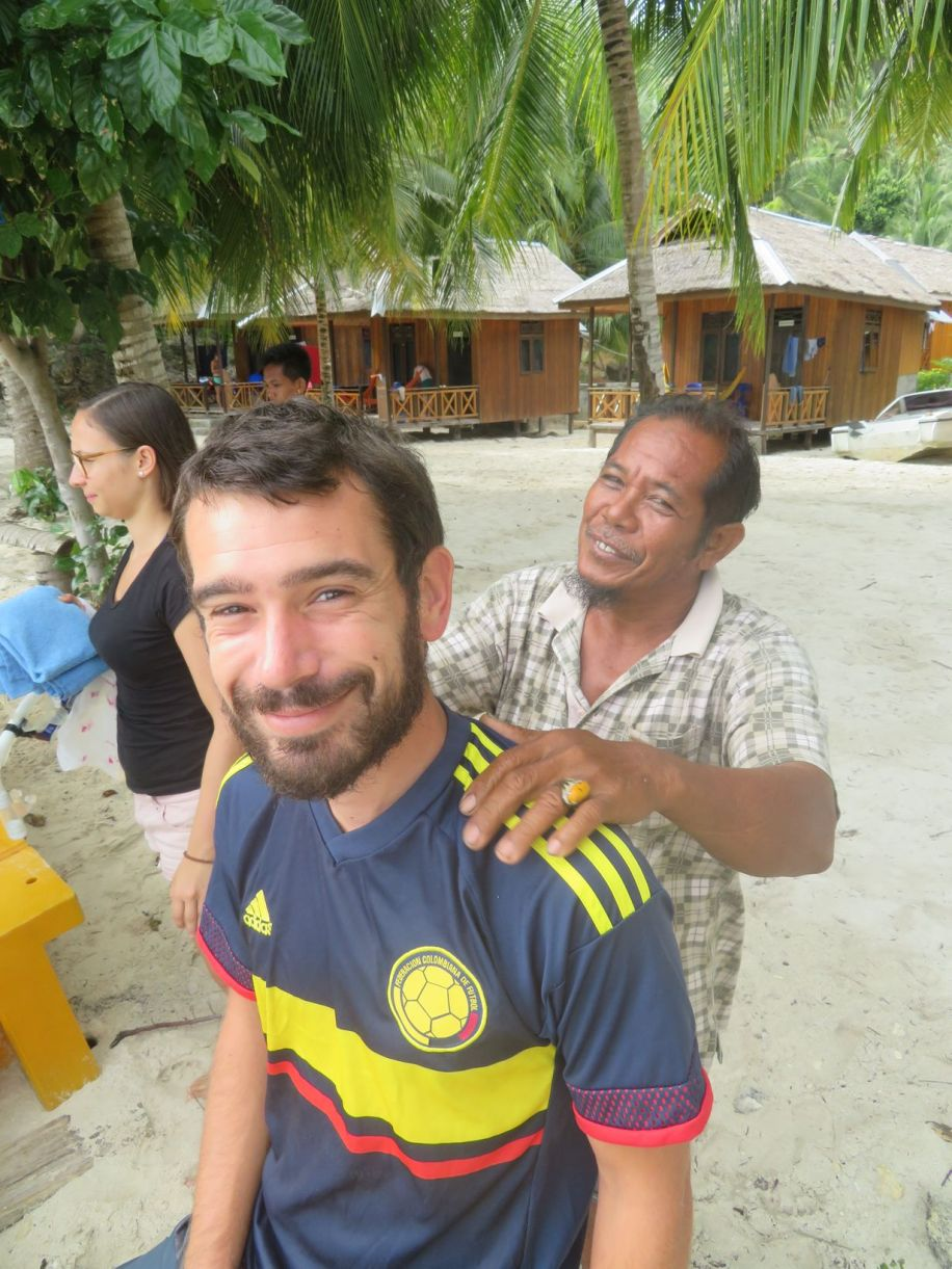 Un petit massage de Jamil et ça repart