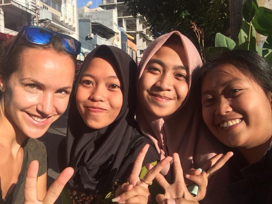 selfie a Makassar