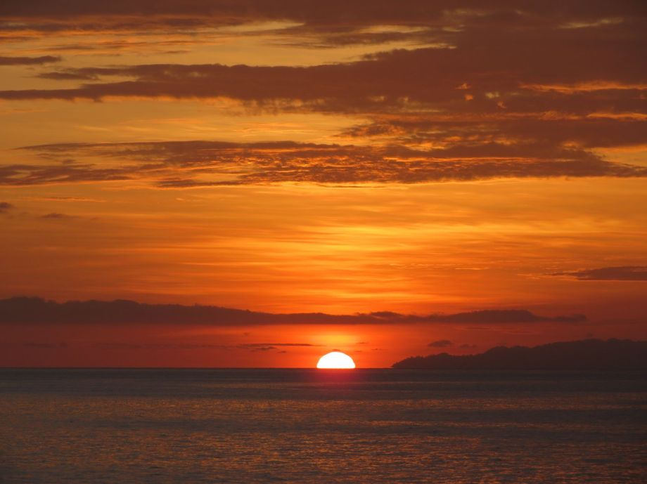 sunset à Malenge