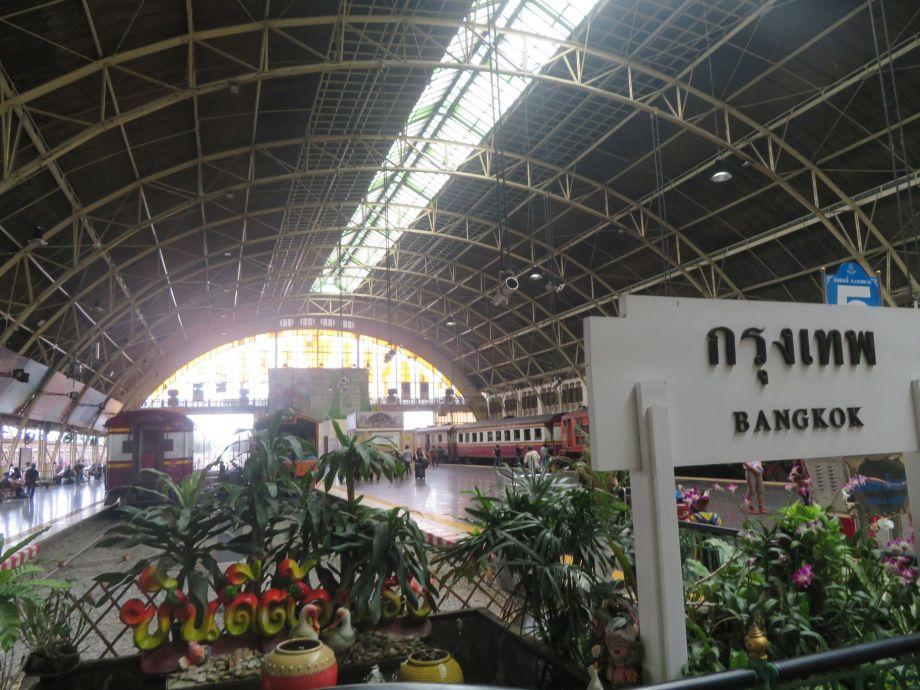 train de Bangkok