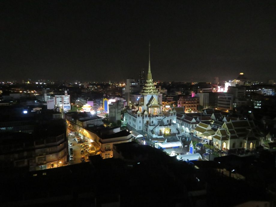 vue du rooftop