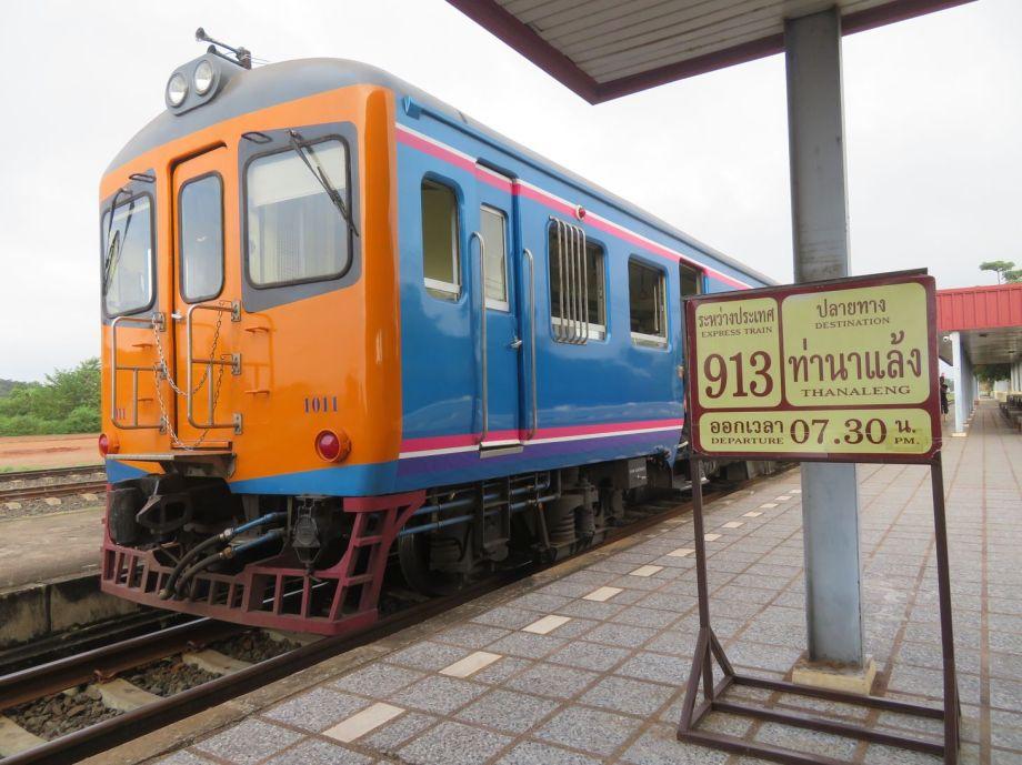 arrivée en train au Laos (2)