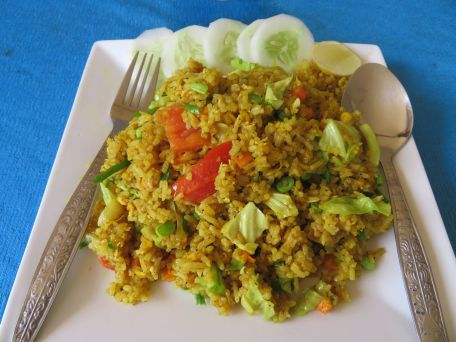 curry fried rice